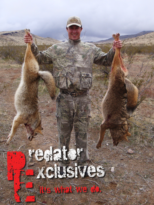 Guided predator hunts.